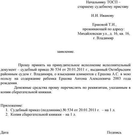 Главный Судебный Пристав России Образец Жалобы - фото 9