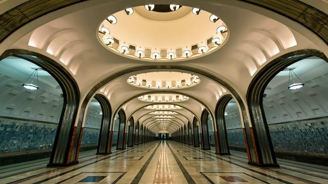 Схема метро Москвы с новыми и строящимися станциями в 2017 году