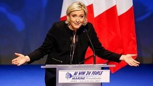 Марин Ле Пен - кандидат в президенты Франции